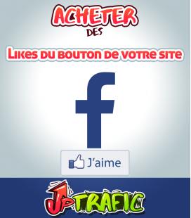 Acheter des likes Facebook pour la page de votre site web